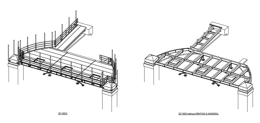 3D Steel Detailing Tekla
