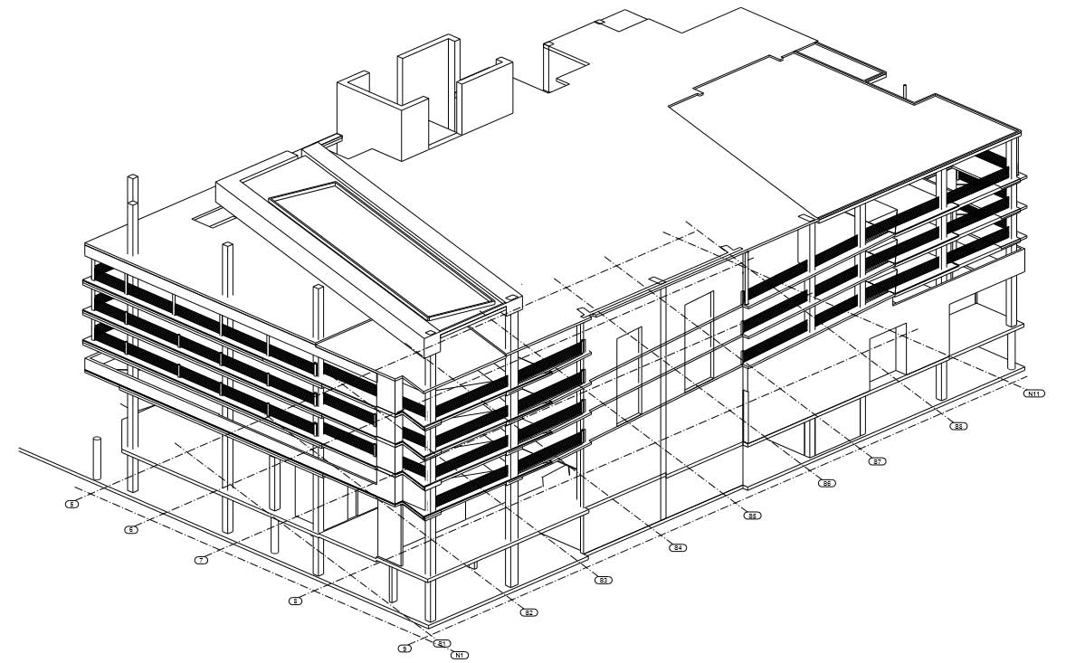 255 South King Street Cable Rail Embed Drawings