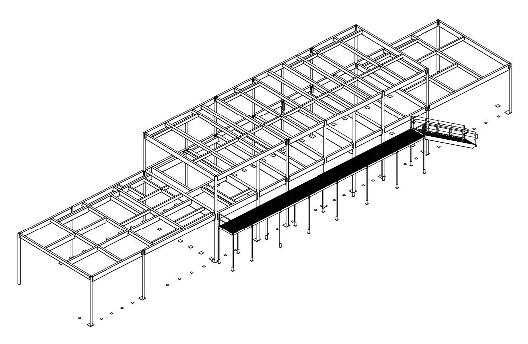 255 South King Street South Penthouse Roof Steel Drawings