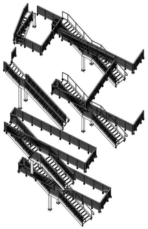 255 South King Street Avalara Stair Drawings