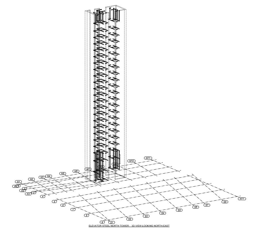 255 South King Street North Elevator